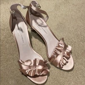 Chinese Laundry Shoes - Chinese Laundry Rose Gold low heel -